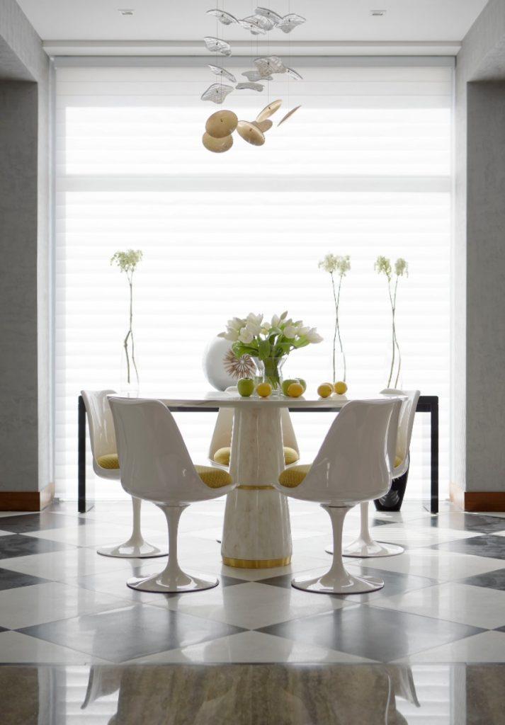ein glamouröses Ostern esszimmer Das perfekte Esszimmer für ein glamouröses Ostern Emirates Hills villa 1 HR