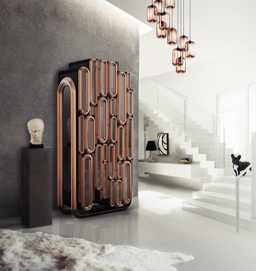 Elegante Aussage Stücke, die Ihr Wohnzimmer Dekor verbessern wird Wohnzimmer Dekor Elegante Aussage Stücke, die Ihr Wohnzimmer Dekor verbessern wird Oblong Modern Cabinet Luxury Furniture Boca Do Lobo HR 07 1