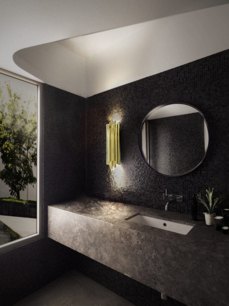 Wandleuchter Einrichtungsideen: atemberaubende Wandleuchter zum einzigartige Dekor brubeck wall ambience 05 HR