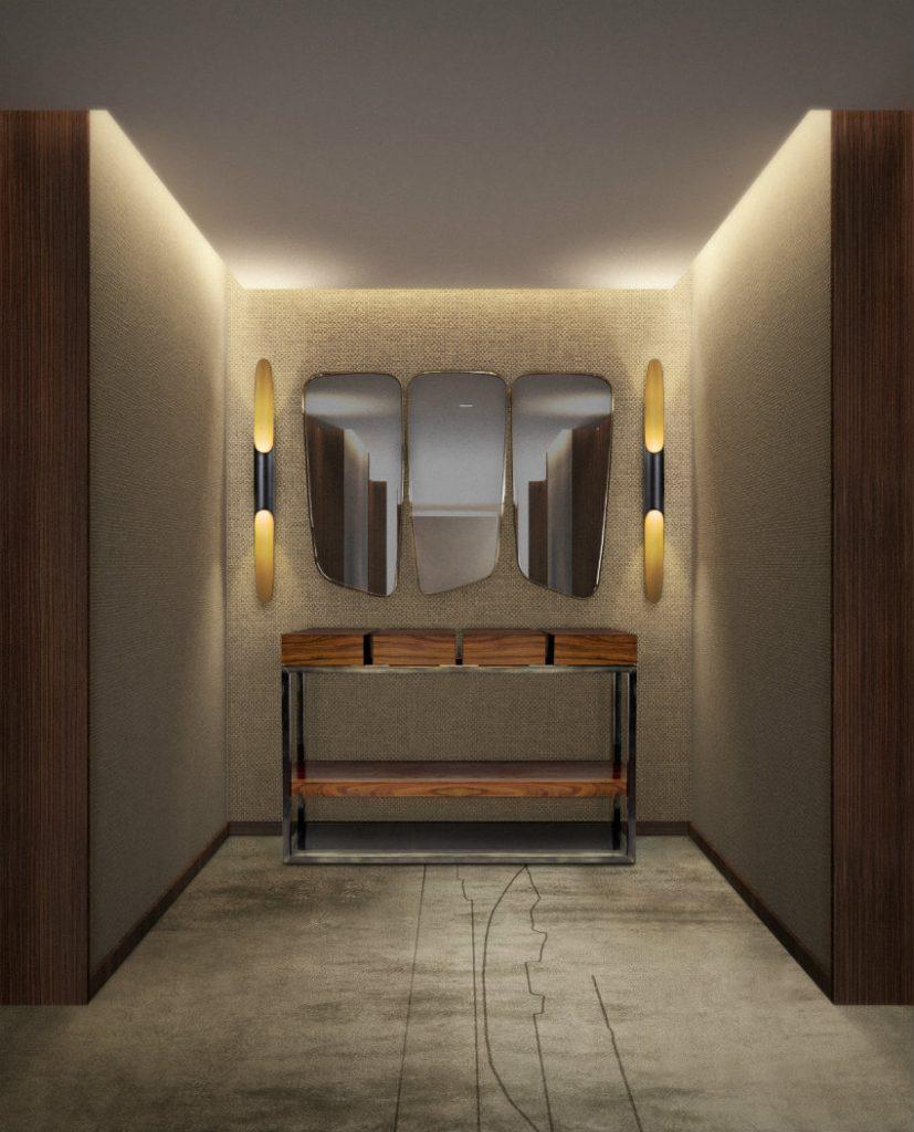 luxus konsole 50 Luxus Konsole für atemberaubende Eingangshalle – Teil II corredor vista 2