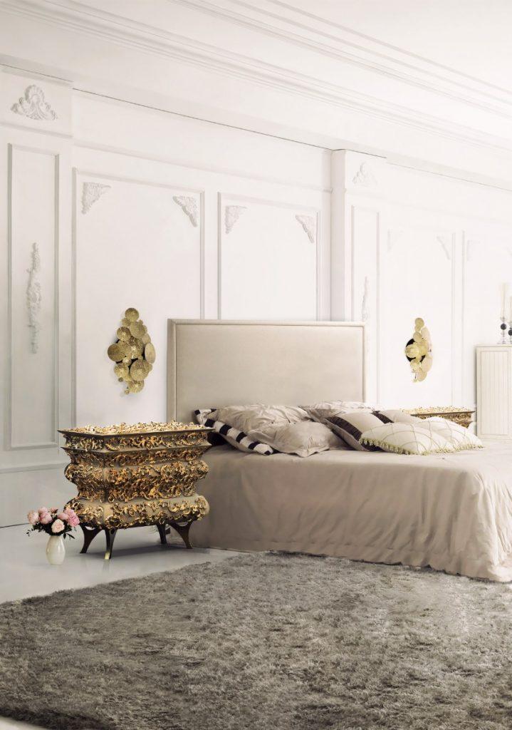 Die beste 10 Luxus goldene Stücke für einen perfekten Sommer luxus Die beste 25 Luxus goldene Stücke für einen perfekten Sommer crochet bedside 1