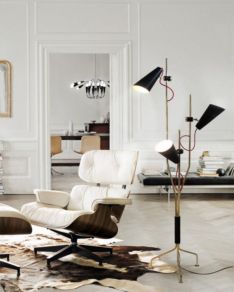 Sommertrends 50 Skandinavische Sommertrends für luxus Haus-dekor – Teil I delightfull evans 3 lights vintage floor lamp