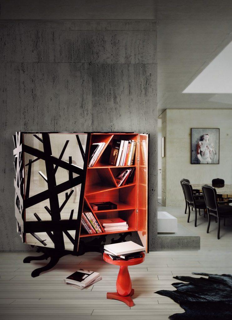 Elegante Schränke für moderne Wohnzimmer Design wohnzimmer design Elegante Schränke für moderne Wohnzimmer Design forest 00