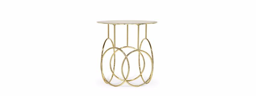 Die beste 10 Luxus goldene Stücke für einen perfekten Sommer  luxus Die beste 25 Luxus goldene Stücke für einen perfekten Sommer kiki side table 1