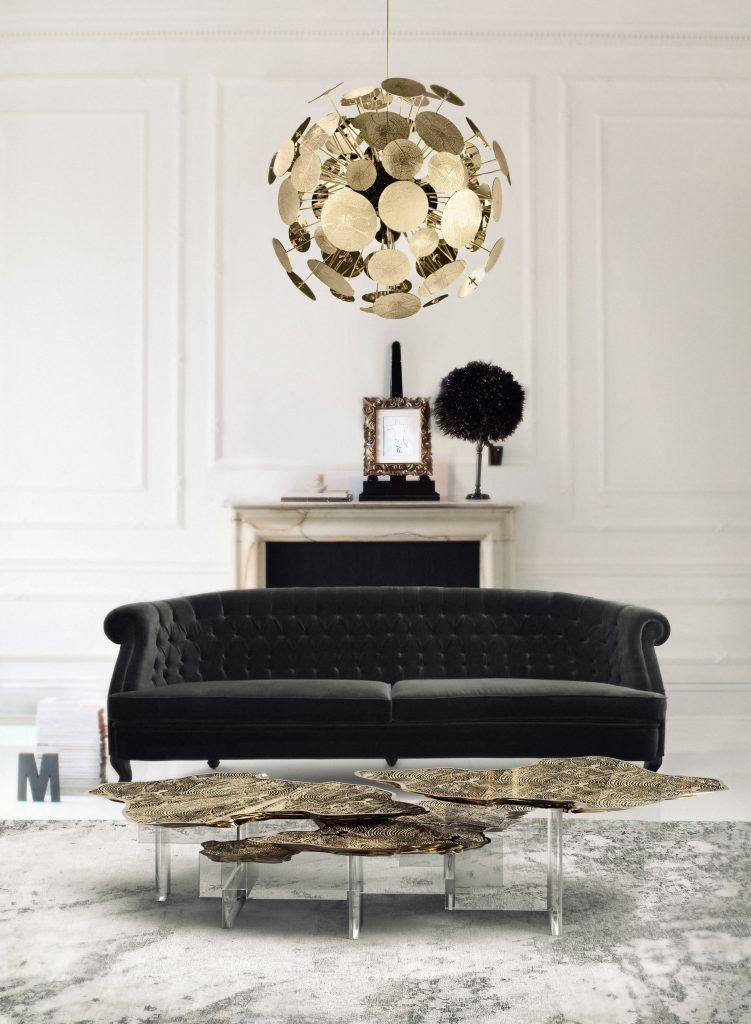 kronleuchter Erleuchten Ihren Sommer mit Luxus Kronleuchter monet acrylic base center table 00