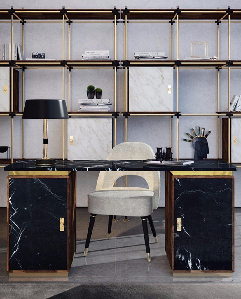 top 25 erstaunliche b ro design inspirationen und ideen. Black Bedroom Furniture Sets. Home Design Ideas