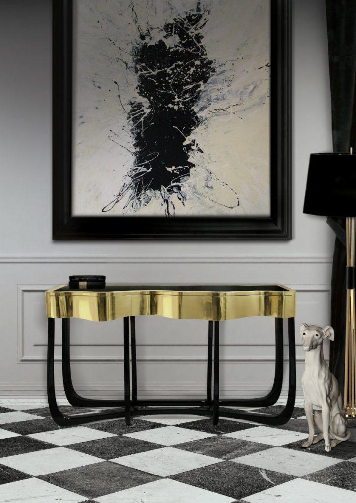 luxus konsole 50 Luxus Konsole für atemberaubende Eingangshalle – Teil II sinuous