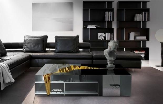 Luxus-Gold und schwarze Möbel für moderne Interiors moderne Interiors Luxus-Gold und schwarze Möbel für moderne Interiors 9