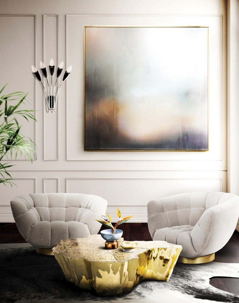 sommer Beste 10 Luxus Dekoideen für einen erfrischenden Sommer BL Project Paris Apartment 10