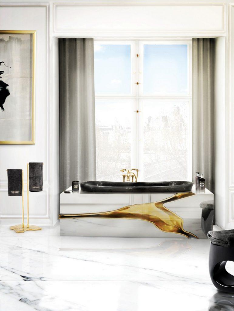 sommer Beste 10 Luxus Dekoideen für einen erfrischenden Sommer BL Project Paris Apartment 4
