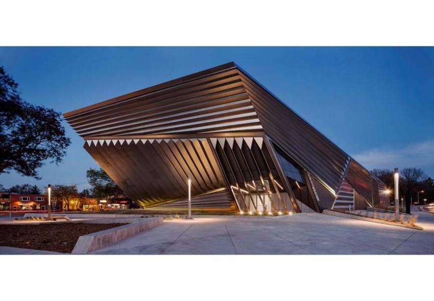 Architektur der besten Museen weltweit Architektur Architektur der besten Museen weltweit Eli and Edythe Broad Art Museum at Michigan State University 1
