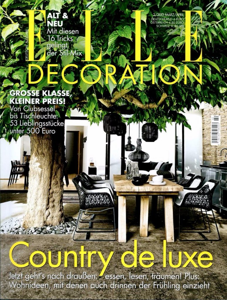 Die 7 beste deutsche Magazine für Innenarchitektur & Design Innenarchitektur Die 7 beste deutsche Magazine für Innenarchitektur & Design Elle Dec Ger cover