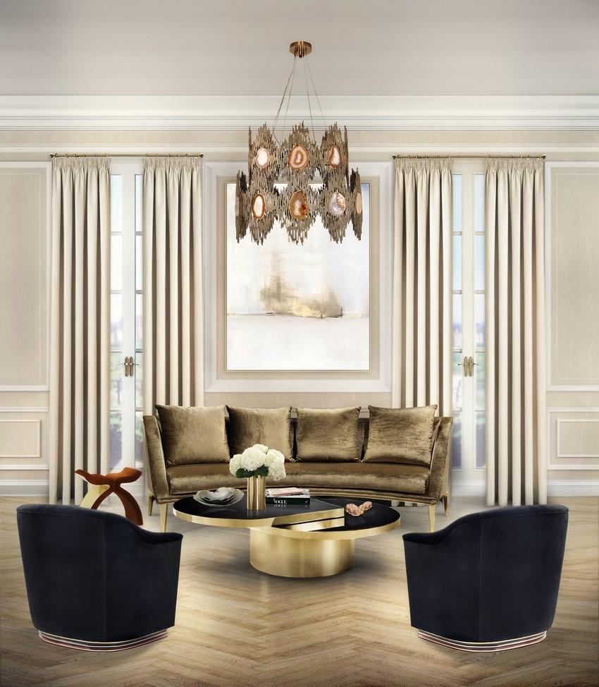 wohn design Top 50 Einrichtungs-Tipps für ein luxuriöses Wohn Design - Teil I KK Living Room 10
