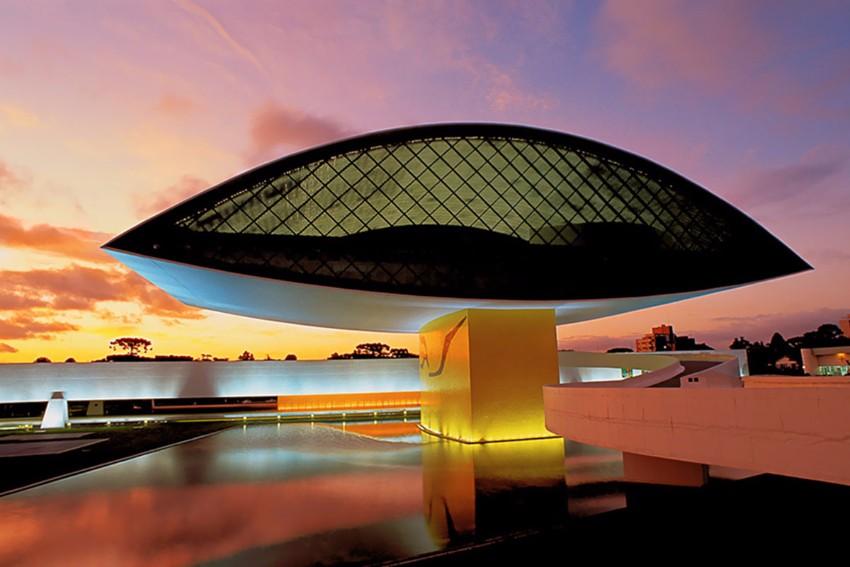 Architektur Architektur der besten Museen weltweit Museu Oscar Niemeyer