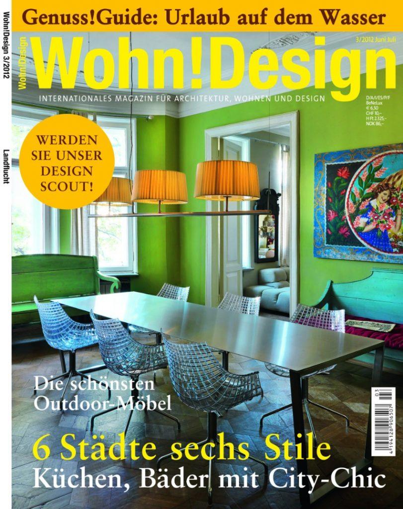 Die 7 beste deutsche Magazine für Design Innenarchitektur Die 7 beste deutsche Magazine für Innenarchitektur & Design U1 TItel WD0312 Titel Vertrieb