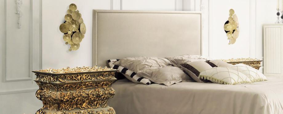 Luxuriöses Schlafzimmer Sommertrends