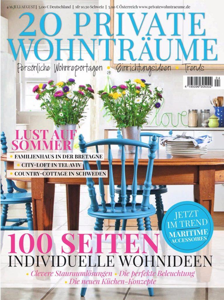 Die 7 beste deutsche Magazine für Design Innenarchitektur Die 7 beste deutsche Magazine für Innenarchitektur & Design wohntraume 01