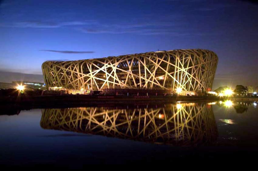 10 Atemberaubendste Gebäude der Welt Architektur 10 Atemberaubendste Architektur Gebäude der Welt Beijing National Stadium China