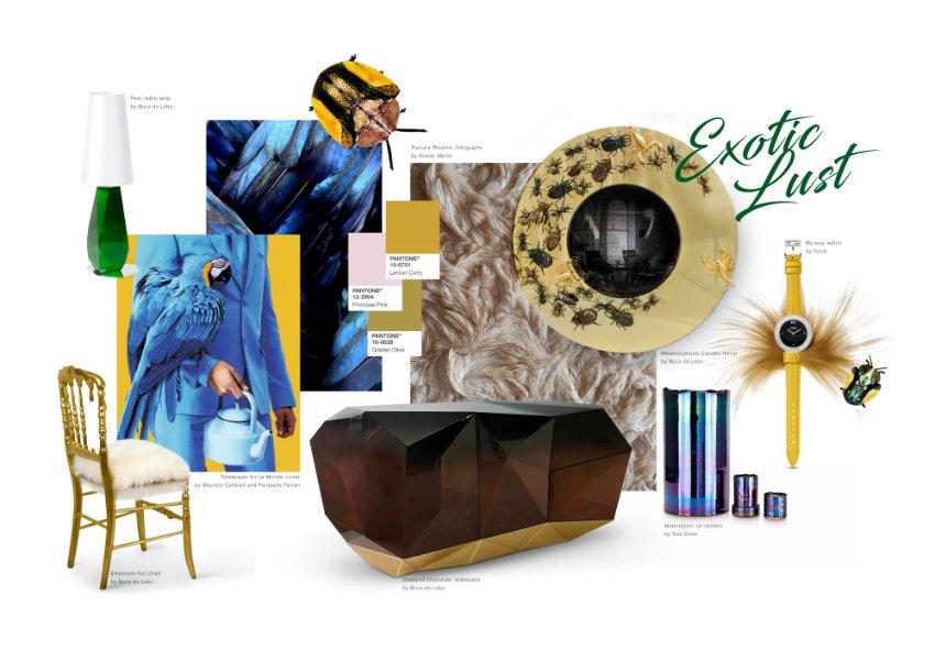 Pantone 2017: Farbbericht für Haus-Dekor pantone 2017 Pantone 2017: Farbbericht für Haus-Dekor EXOTIC LUST by Boca do Lobo