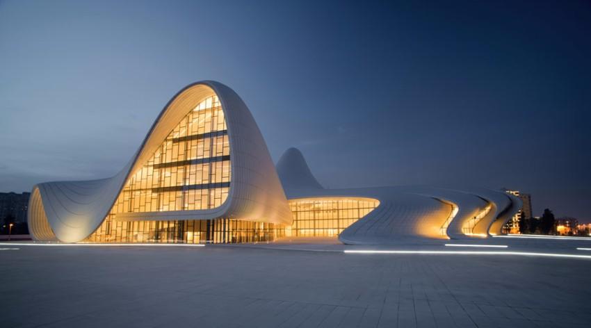 10 Atemberaubendste Architektur Gebäude der Welt Architektur 10 Atemberaubendste Architektur Gebäude der Welt Heydar Aliyev Cultural Center     Baku Azerbaijan