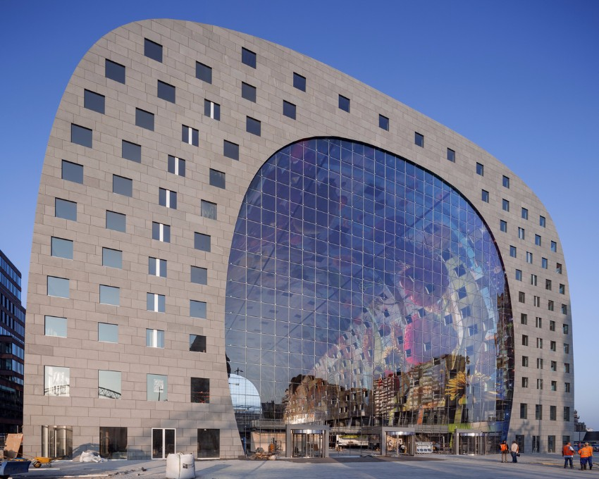10 Atemberaubendste Gebäude der Welt Architektur 10 Atemberaubendste Architektur Gebäude der Welt Markthal Rotterdam Niederlande