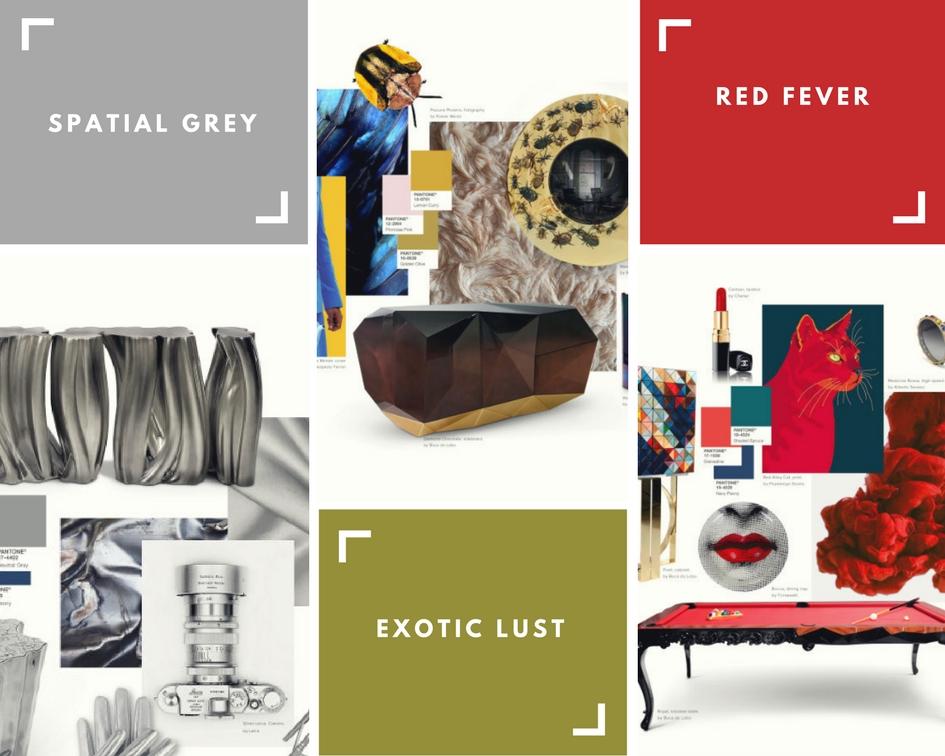 Pantone 2017: Farbbericht für Haus-Dekor pantone 2017 Pantone 2017: Farbbericht für Haus-Dekor Moodboards by Boca do Lobo