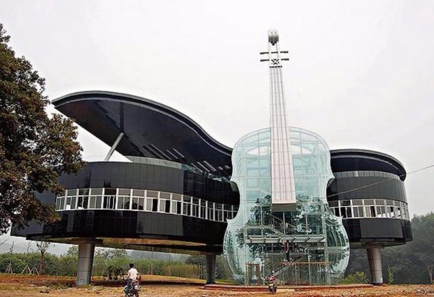 10 Atemberaubendste Gebäude der Welt Architektur 10 Atemberaubendste Architektur Gebäude der Welt The Piano House     Anhui China