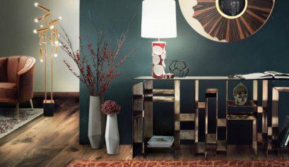 Herbst Design Trends 2017: Konsolen für inspirierendes Eingangshaus