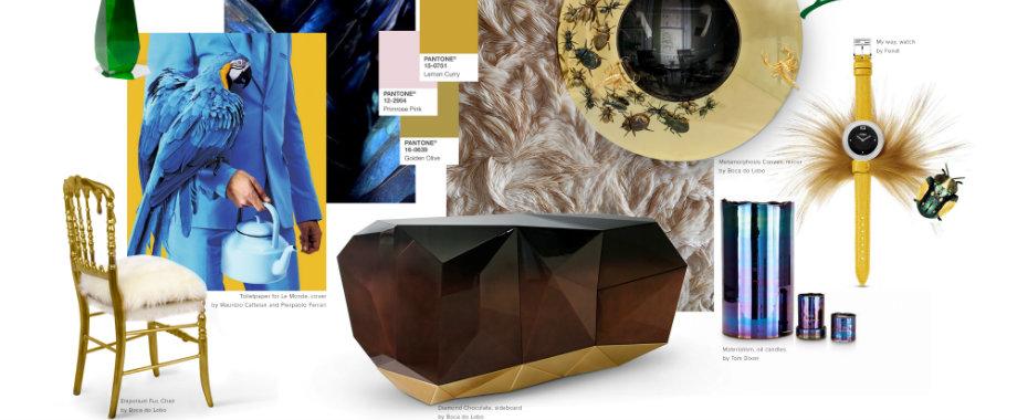 Pantone 2017: Farbbericht für Haus-Dekor