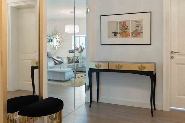 Konsolentische Designmöbel: Top 10 teuersten Konsolentische Apartment Belvedere 04