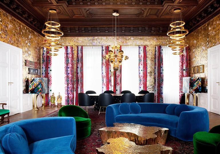 Innenarchitektur Zeitgenössischer österreichischer Schloss von Denis Kosutic Innenarchitektur Denis Kosutic palais fg 12