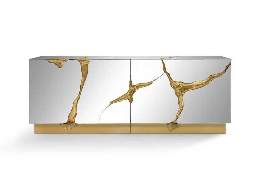 moderne anrichten Moderne Anrichten, die Funktionalität und Luxus Design verbinden Lapiaz Sideboard