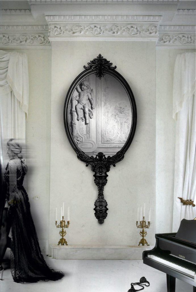 Wandspiegel Exklusives Design: Luxus Wandspiegel, die Persönlichkeit reflektieren Marie Antoinette 1