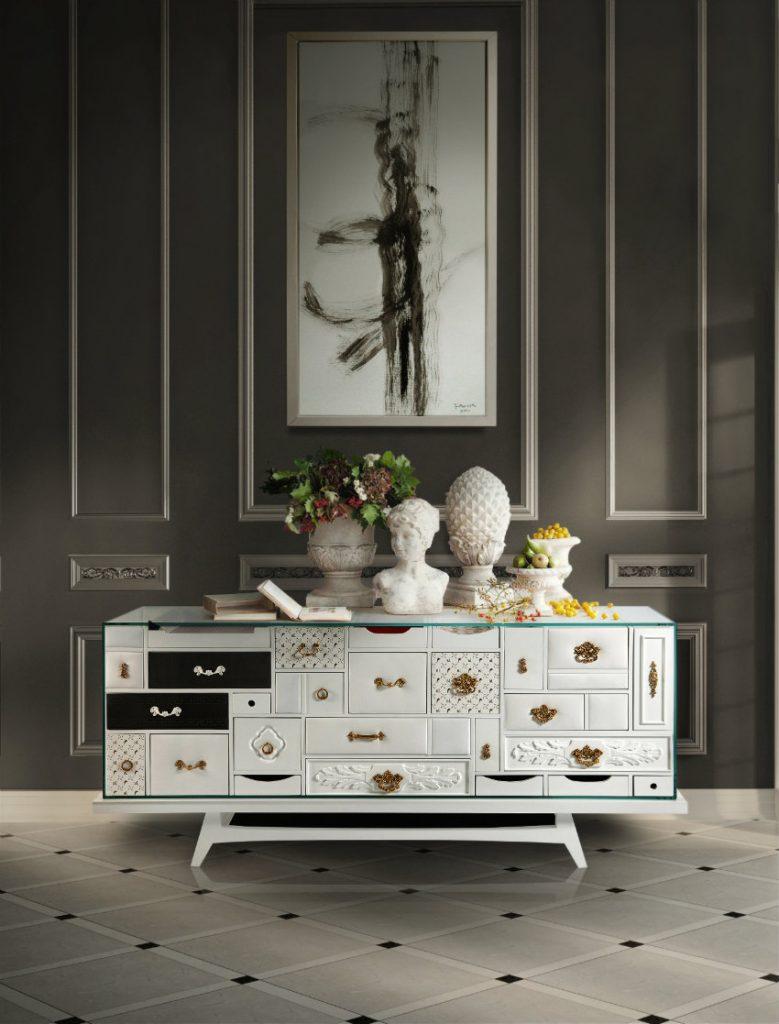 moderne anrichten Moderne Anrichten, die Funktionalität und Luxus Design verbinden Mondrian