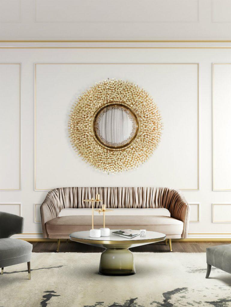 Wandspiegel Exklusives Design: Luxus Wandspiegel, die Persönlichkeit reflektieren Robin Spiegel