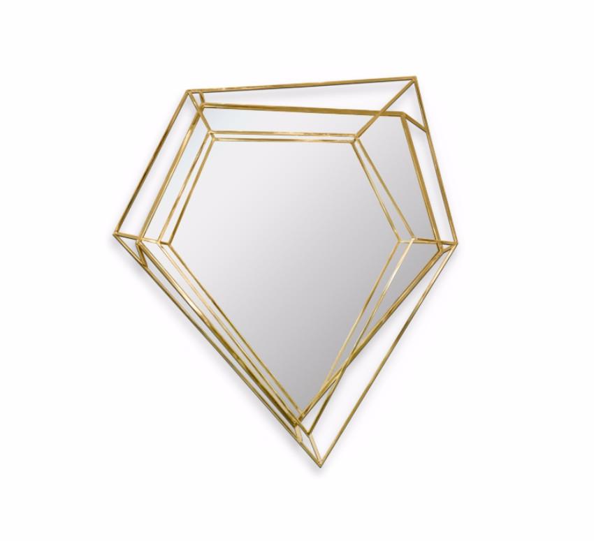 Spiegeln: Die schönste Wandschmück Stücke für ein perfektes Design Spiegeln Spiegeln: Die schönste Wandschmück Stücke für ein perfektes Design diamond small mirror 01 zoom
