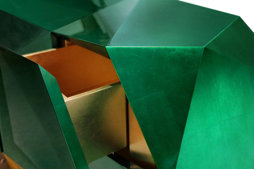 moderne anrichten Moderne Anrichten, die Funktionalität und Luxus Design verbinden diamond emerald 04