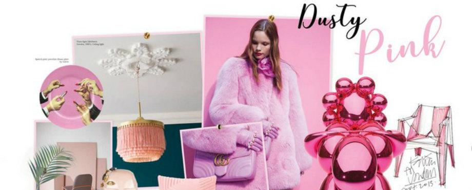 Die Vorherrschaft den Pantone Farbtrends 2017: Hübsch im Rosa