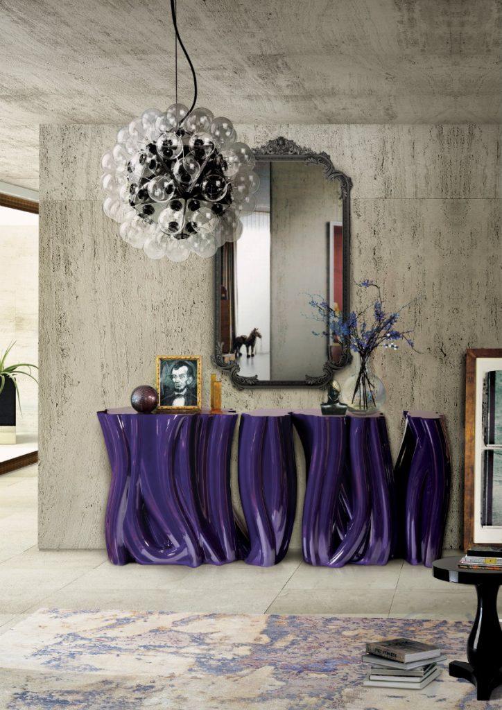 Wandspiegel Exklusives Design: Luxus Wandspiegel, die Persönlichkeit reflektieren monochrome