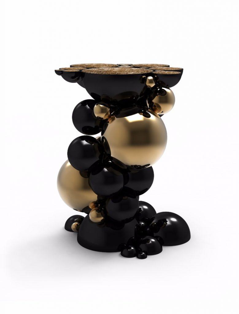 Die 7 beste Beistelltische für eine Herbst-Dekoration beistelltische Die 7 beste Beistelltische für eine Herbst-Dekoration newton futuristic side table boca do lobo 01