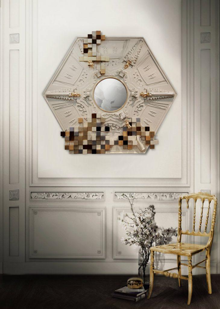 Exklusives Design: Luxus Wandspiegel, die Persönlichkeit reflektieren Wandspiegel Exklusives Design: Luxus Wandspiegel, die Persönlichkeit reflektieren piccadilly luxury mirror boca do lobo 00