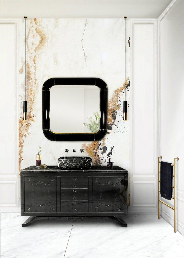 Wandspiegel Exklusives Design: Luxus Wandspiegel, die Persönlichkeit reflektieren ring mirror hr