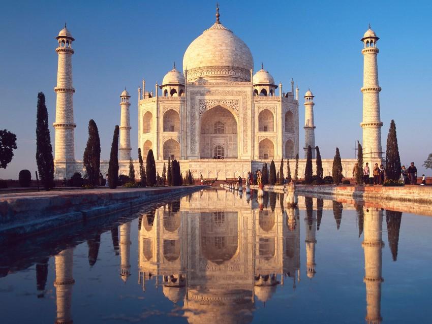 Entdecken Sie 7 anspruchsvolle Reiseziele  Architektur Entdecken Sie 7 anspruchsvolle Reiseziele für Architektur-Lovers taj mahal