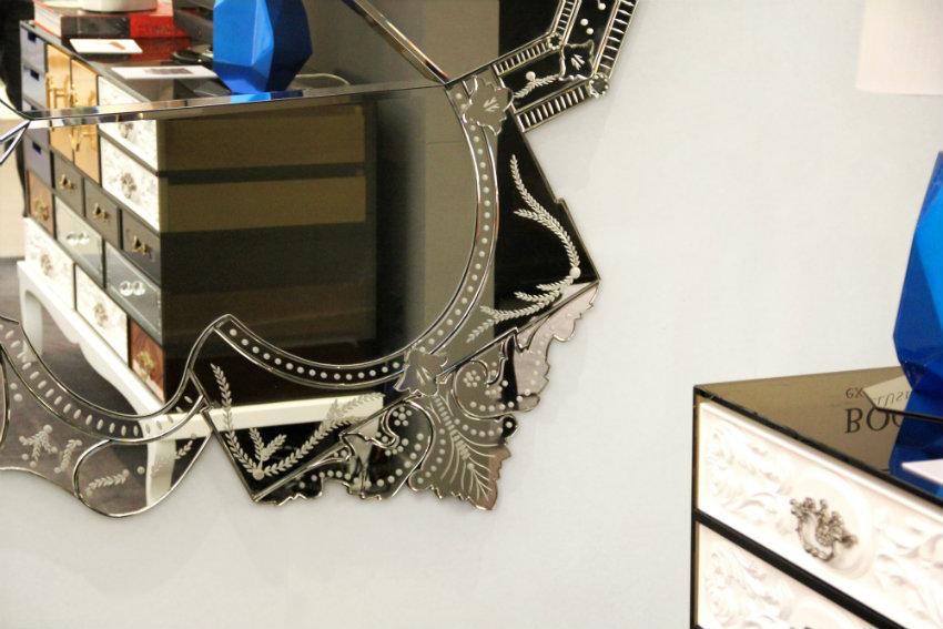 Wandspiegel Exklusives Design: Luxus Wandspiegel, die Persönlichkeit reflektieren venice 03
