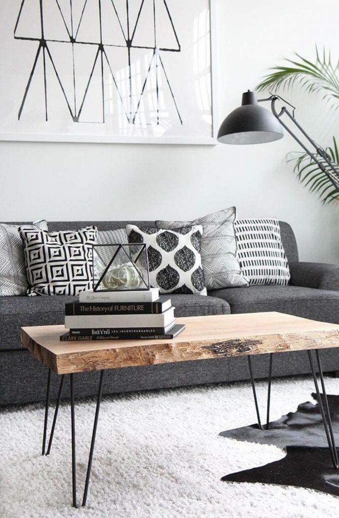 Luxus Wohnzimmer-Ideen für eine skandinavische Innenausstattung Innenausstattung Luxus Wohnzimmer-Ideen für eine skandinavische Innenausstattung 26 coffee table decorating ideas homebnc