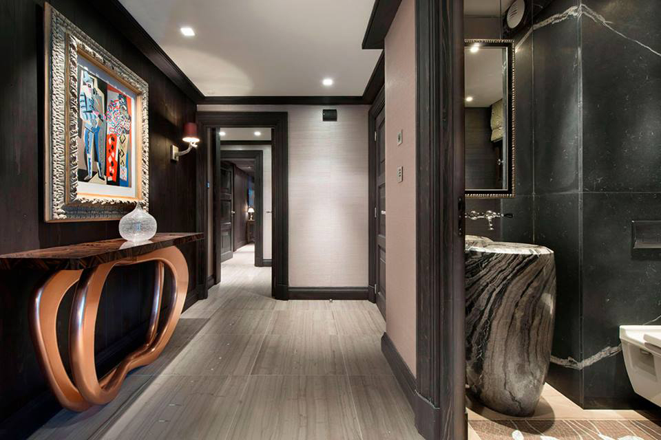 Chalet Skandinavische schicke Wohnzimmer Design zu Ihres Winter Chalet Chalet Boca Do Lobo Project 01