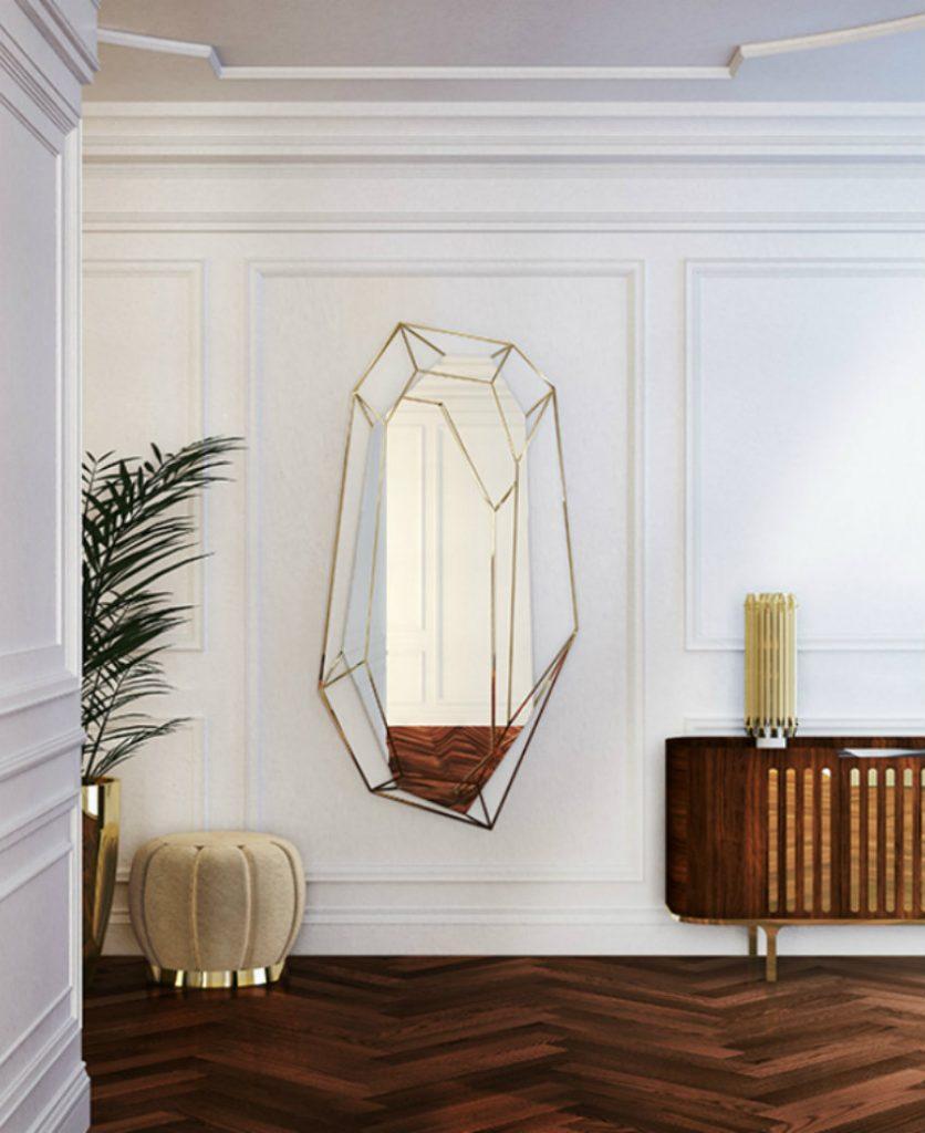 Innenausstattung Luxus Wohnzimmer-Ideen für eine skandinavische Innenausstattung achieve diamond mirror ambience zoom 3 1