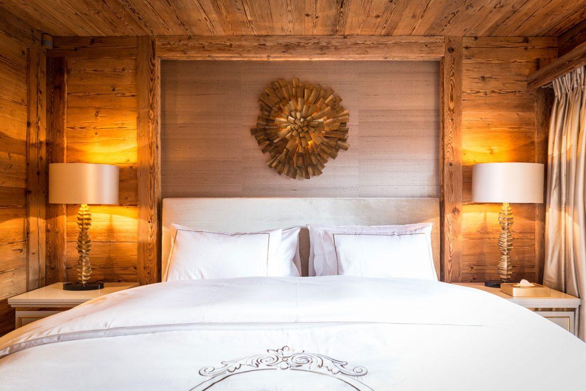 chalet Luxus Privates Chalet in Gstaat von Rougemont Interiors entworfen blush h web 1