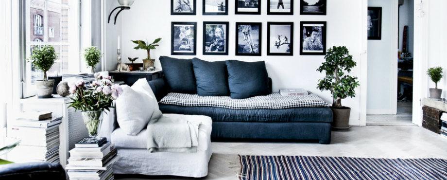 Luxus Wohnzimmer-Ideen für eine skandinavische Innenausstattung