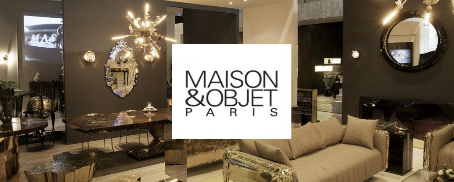 Maison et Objet Paris: Einrichtungsstile und Trends für Herbst 2017